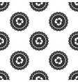 recycle symbol label icon seamless pattern vector image vector image