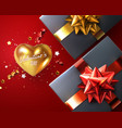 valentines day holiday scene vector image