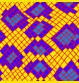yellow tropical animal snake skin seamless pattern vector image vector image