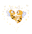 love bees vector image