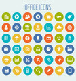 big ui ux and office icon set vector image vector image