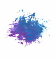 blue brush strokes - backdrop for your text vector image vector image