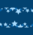 blue star style background collection vector image