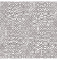 brown geometric ornament vector image vector image