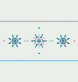 full hd ethnic style winter grunge snowflakes vector image vector image