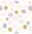 girls boss seamless pattern polka dot abstract vector image vector image