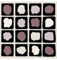 Ink splatters Grunge design elements collection vector image vector image