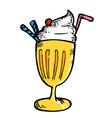 juice float vector image vector image