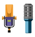 Microphone icon isolated vector image