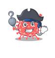 polyploviricotina cartoon design style as a vector image vector image