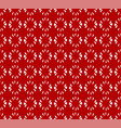 seamless pattern with abstract floral flower like vector image