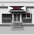 shop exterior template 3d storefront