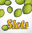 Slots design vector image vector image