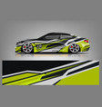 sport car racing wrap design design - vec