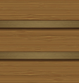 wood wall background vector image vector image