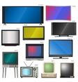 TV screens vector image