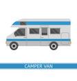camper van icon vector image vector image