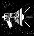 mouthpiece black friday vector image vector image