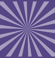 popular sun rays background ultra violet color vector image vector image