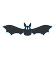 vampire black flying icon vector image vector image