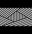 fashionable geometric background vector image vector image