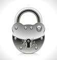 Old Padlock vector image vector image