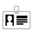 safety card isolated icon vector image vector image