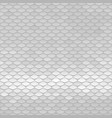 white texture abstract scale pattern vector image vector image