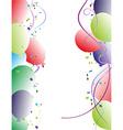 Party balloon Frame vector image