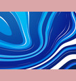 abstract wave blue water ocean background vector image vector image