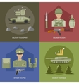 Army Flat Design vector image vector image