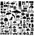 camping pictogram vector image vector image