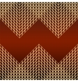 Card with pattern of golden mesh vector image vector image
