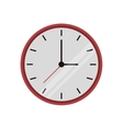clock time watch work icon vector image