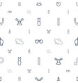 elegance icons pattern seamless white background vector image vector image