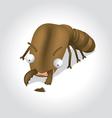 termite cartoon character vector image vector image