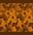 colorful honeycomb seamless pattern vector image vector image