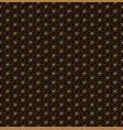 japanese seamless pattern vector image