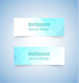 multipurpose layout design 1 vector image vector image