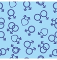 seamless texture male and female gay lesbian vector image vector image