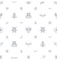 wing icons pattern seamless white background vector image vector image