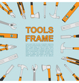 tools frame 4 vector image