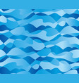 abstract concept sea waves seamless pattern vector image
