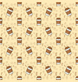 breakfast seamless background vector image