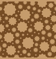geometric ornament texture with linear vector image vector image