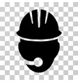 industrial operator icon vector image