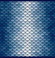 seamless scale pattern vector image vector image
