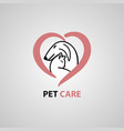 pet care vet clinic vector image