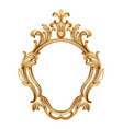 baroque luxury golden frame elegant mirror decor