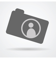 camera web icon vector image vector image